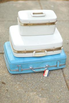Mid-Century Suitcases