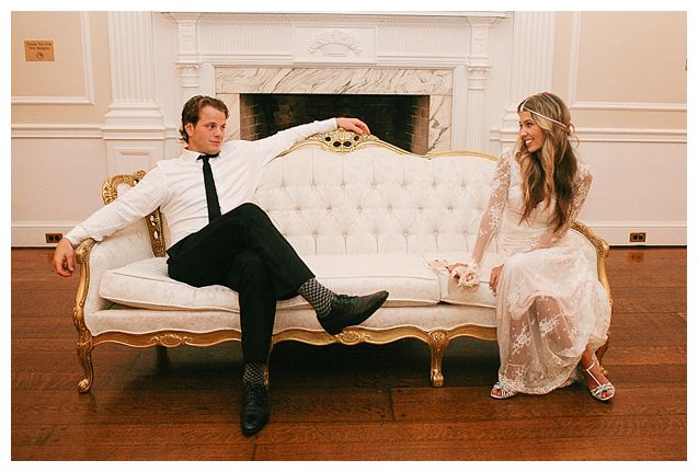 John Carlson And Gina Nucci Wedding Something Vintage